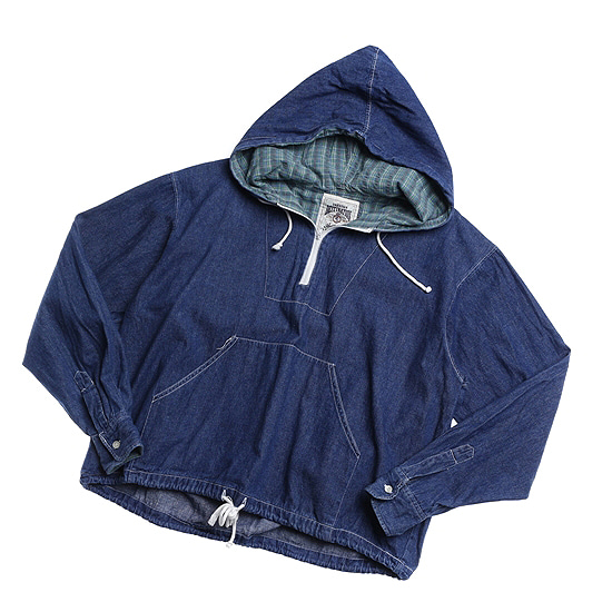 Destination denim anorak