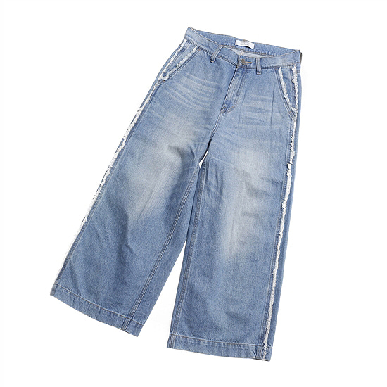 LOWRYS FARM wide denim pants
