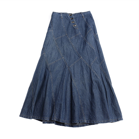 SEVEN ZING denim skirt