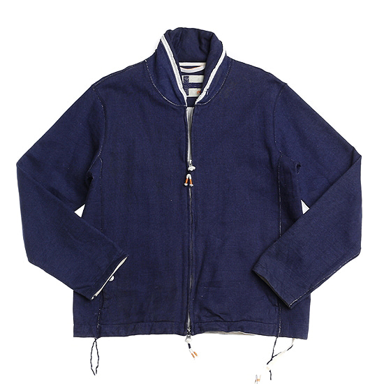 UMI indigo cotton jacket