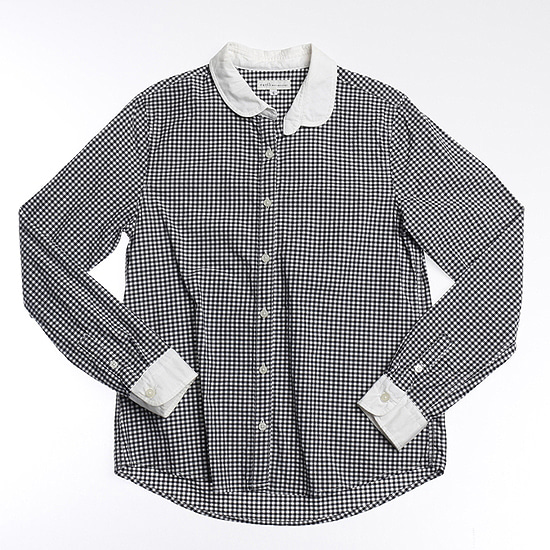 EARTH MUSIC & ECOLOGY gingham shirts