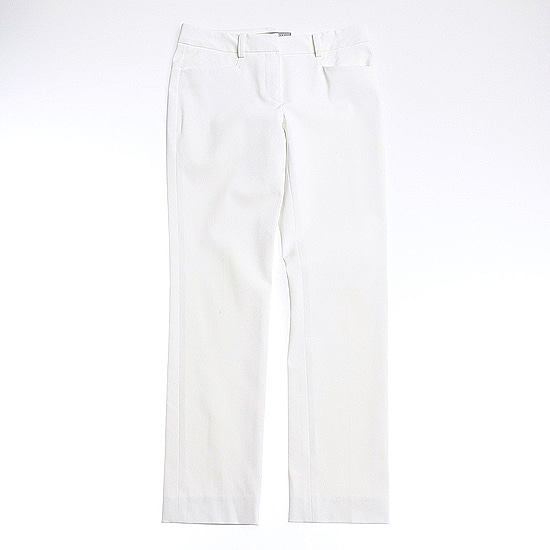THEORY LUXE light ivory color pants
