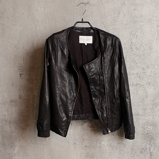 B & Y by UNITED ARROWS goat skin rider (kltz)
