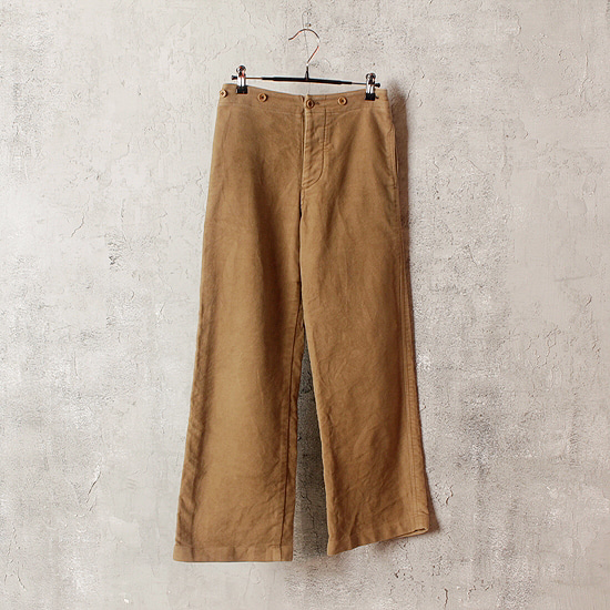 MARGARET HOWELL hard cotton pants