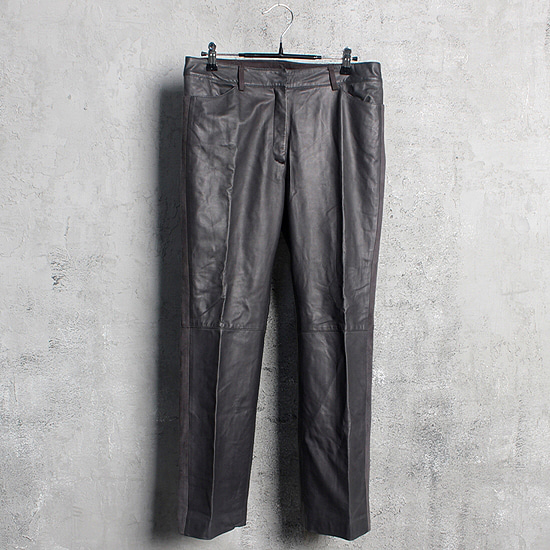 GEORGES RECH lamb skin pants