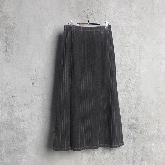Les balles village  denim skirt